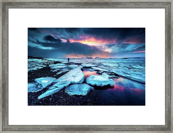 Badlands IIi Framed Print
