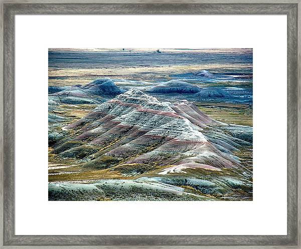 Badlands1 Framed Print