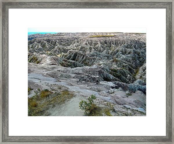 Badlands2 Framed Print