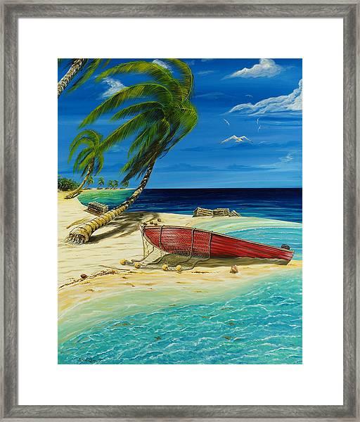 Bahama Beach Framed Print