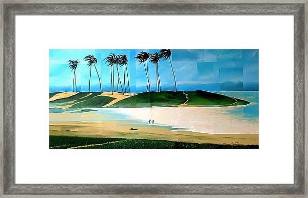 Bahia Framed Print by Laurend Doumba