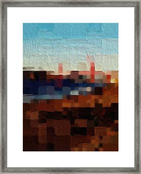 Baker Beach Framed Print