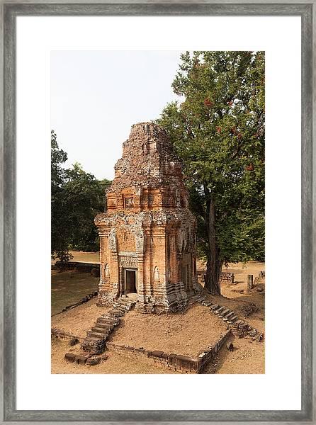 Bakong Temple, Siem Riep, Cambodia Framed Print