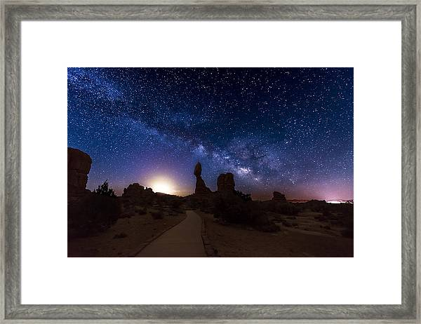 Framed Print featuring the photograph Balance by Dustin  LeFevre