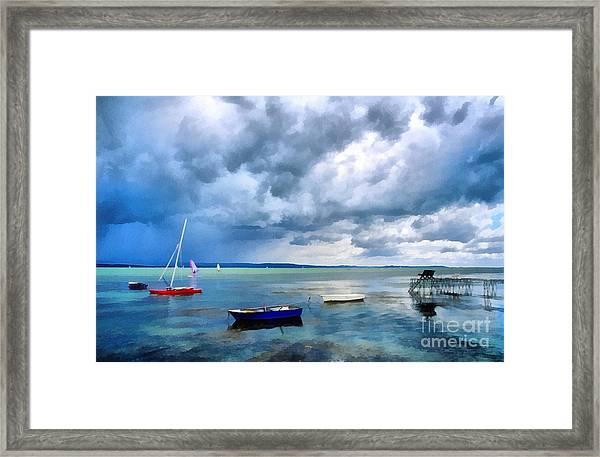 Balaton Lake Framed Print
