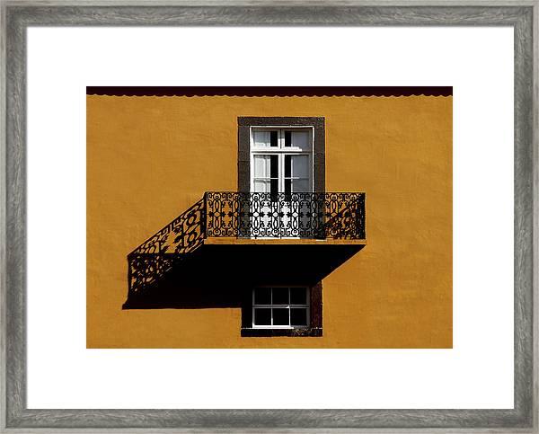 Balcon Framed Print