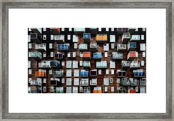 Balconia Framed Print