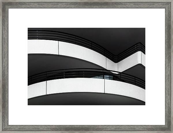 Balcony Lines Framed Print