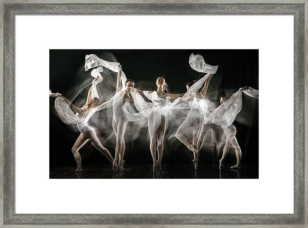 Ballerina Story Framed Print by Martha Suherman