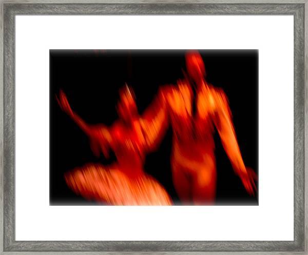 Ballet Blur 1 Framed Print