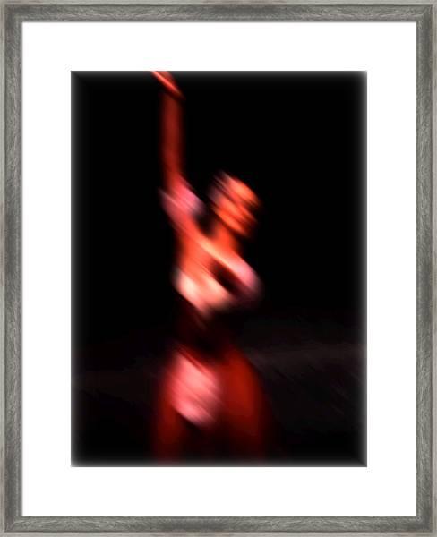 Ballet Blur 4 Framed Print