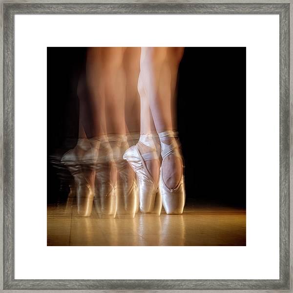 Ballet Framed Print by Howard Ashton-jones