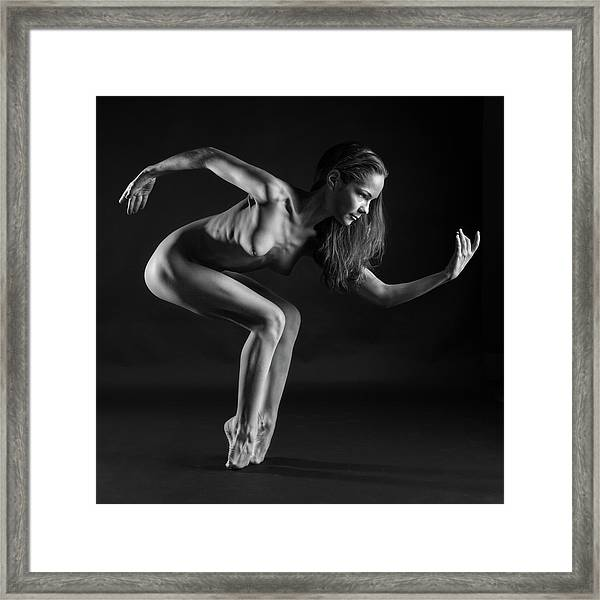 Ballet Shoes Are For Sissies Framed Print