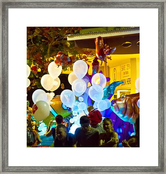 Framed Print featuring the photograph Balloons by Debbie Cundy