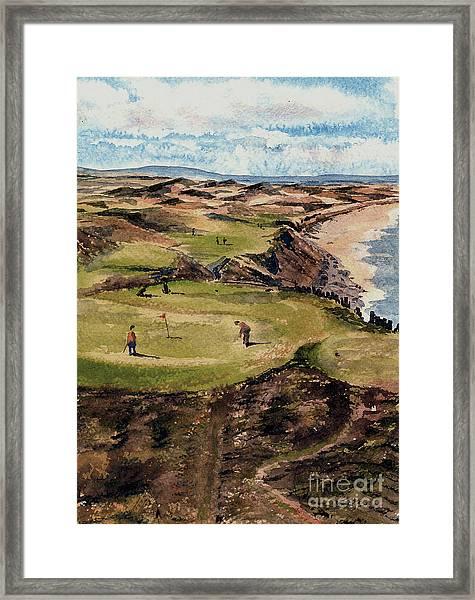 Kerry  Ballybunion G C Framed Print