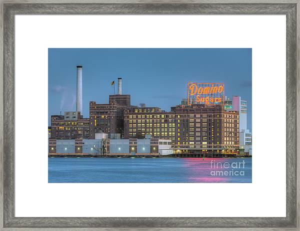 Baltimore Domino Sugars Plant I Framed Print