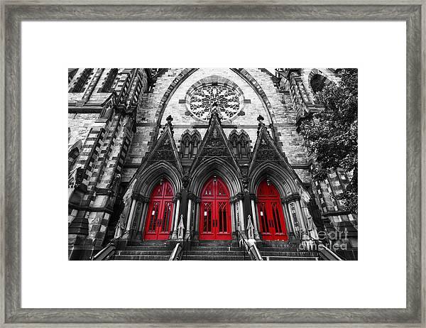 Baltimore Mount Vernon United Methodist Church Framed Print