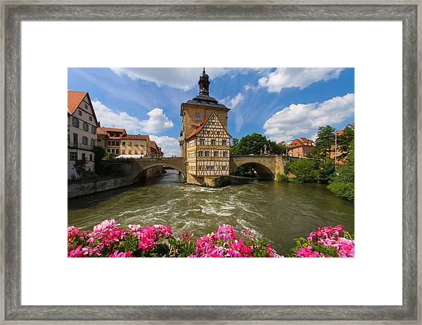 Bamberg Bridge Framed Print