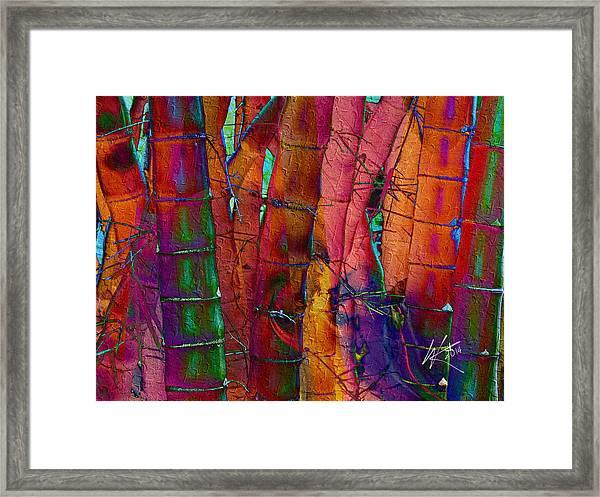 Bamboo Delight Framed Print