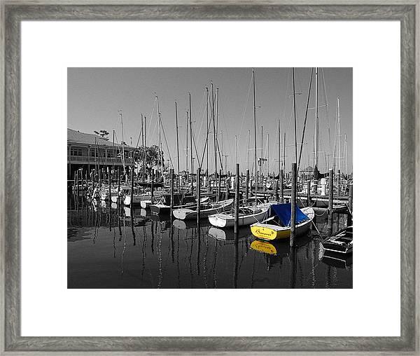 Banana Boat Framed Print