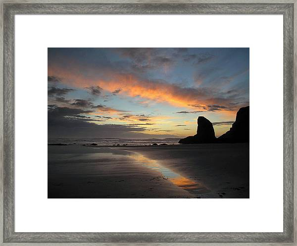 Bandon Beach Beauty Framed Print