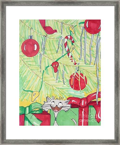 Bang And Tree Framed Print