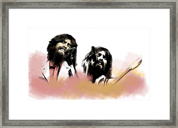 Bangladesh  George Harrison Framed Print