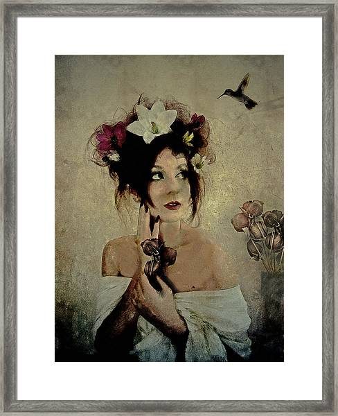 Banquet Unexpected  Framed Print
