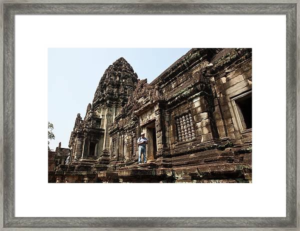 Banteay Samre Temple At Angkor, Siem Framed Print