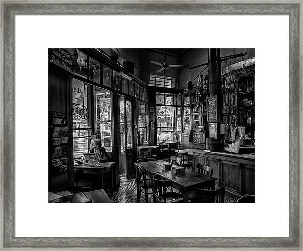 Bar De Cao Framed Print