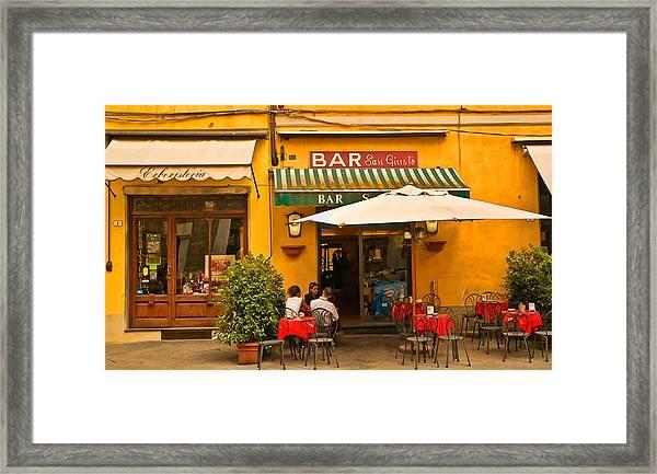 Bar San Giusto Framed Print