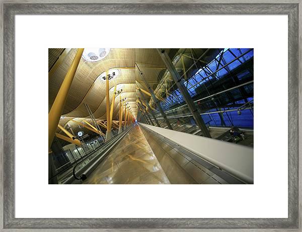 Barajas International Airport, Madrid Framed Print by Hisham Ibrahim