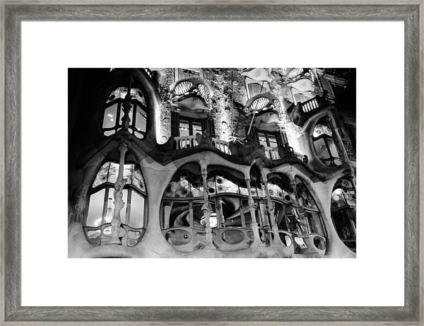 Barcelona - Casa Batllo Framed Print