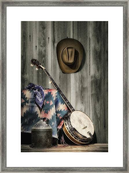 Barn Dance Hoe Down Framed Print