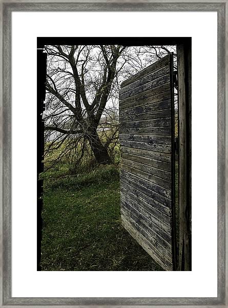 Barn Door No. 1 Framed Print