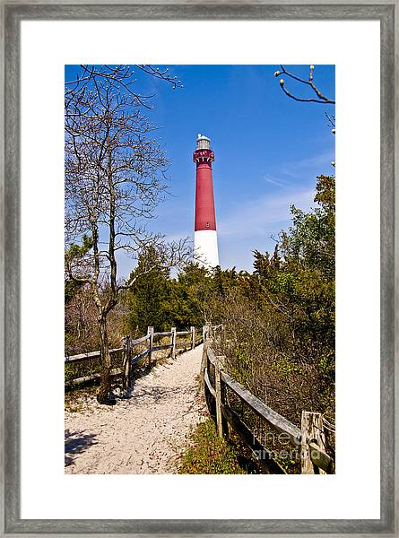 Barnegat Lighthouse II Framed Print