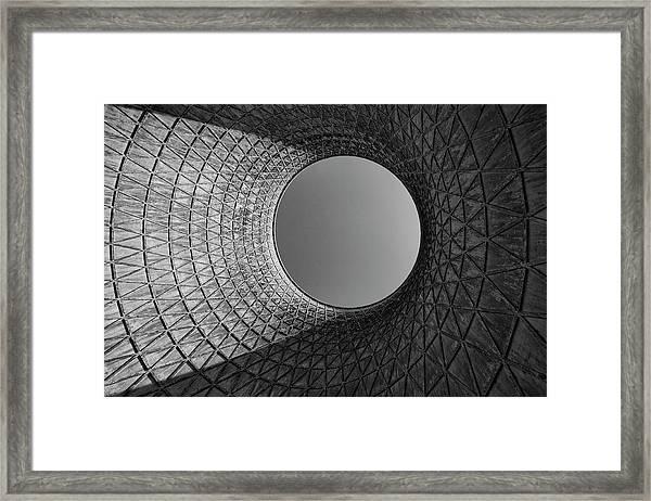 Barrel Sky Framed Print