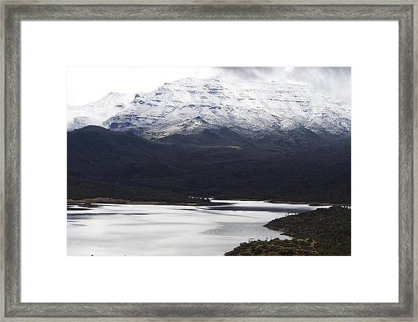 First Fall Of Snow Framed Print