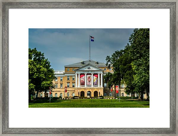 Bascom Hall Framed Print