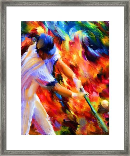 Baseball IIi Framed Print