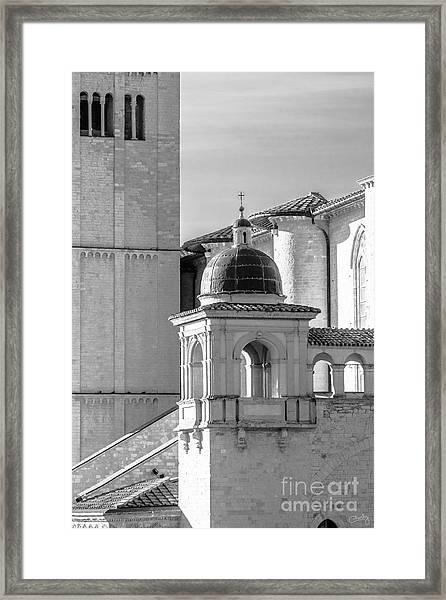 Basilica Details Framed Print