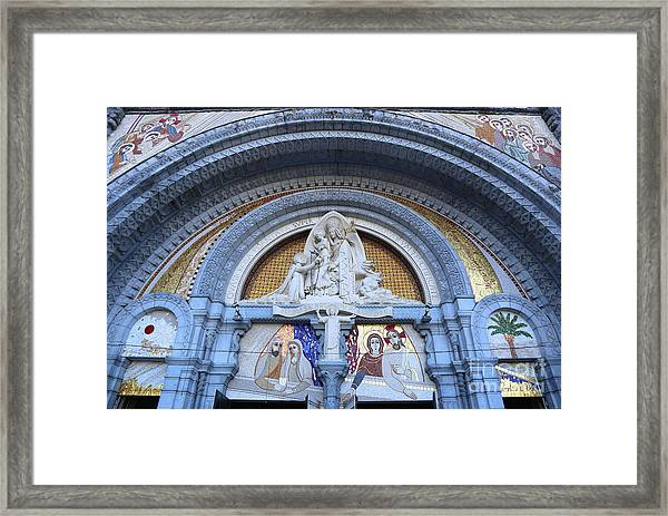 Basilica Of Our Lady Of Lourdes Framed Print