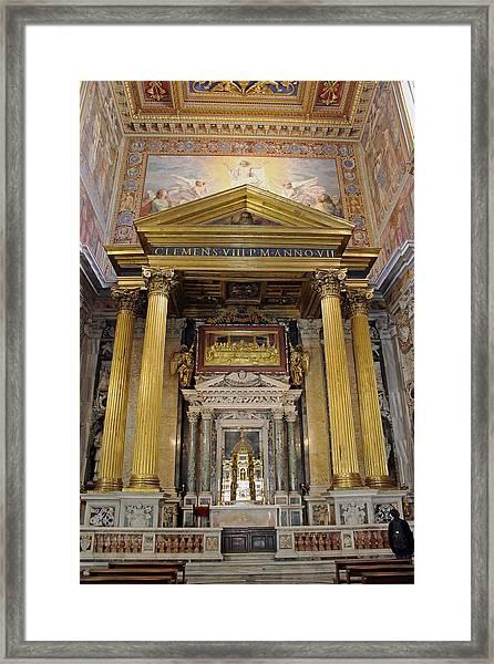 Basilica Of St John Lateran  Framed Print