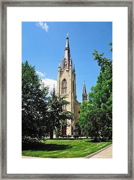 Basilica Of The Sacred Heart Framed Print