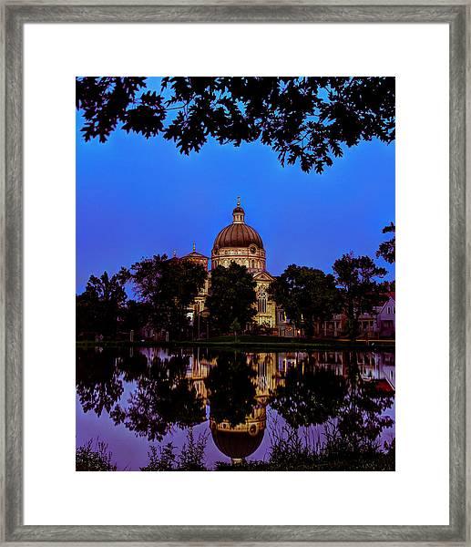Basilica St. Josaphat Framed Print by Anna-Lee Cappaert
