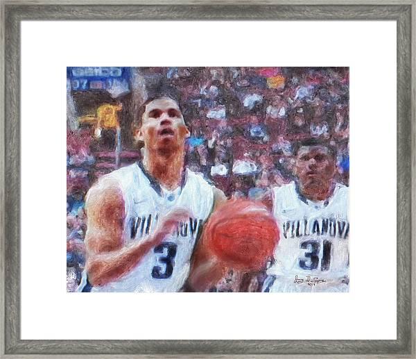 Basketball Game  Framed Print