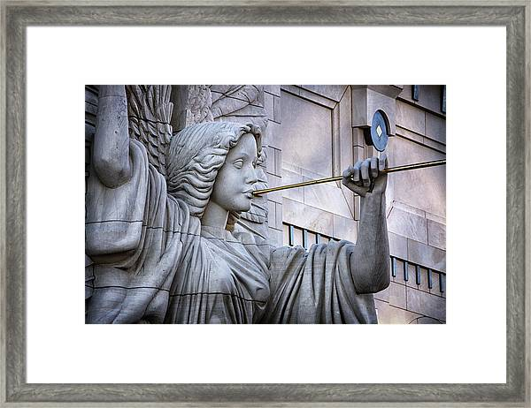 Bass Hall Angel Framed Print