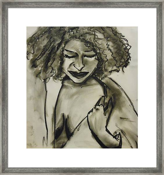 Bath Time Framed Print
