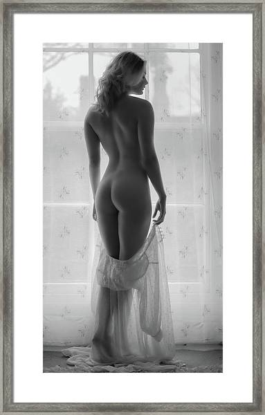 Bathed In Beauty Light Framed Print