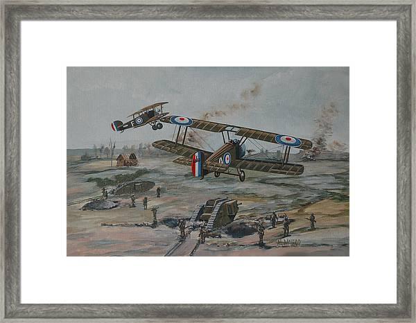 Battle Of Amiens Framed Print